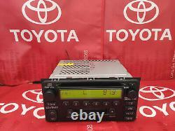 00 01 03 04 Toyota OEM Celica GT Highlander AM-FM Radio Tape CD Player 16816