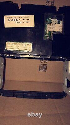 01-03 Toyota Highlander Manual AC Climate Control Dash Bezel OEM 84010-48082
