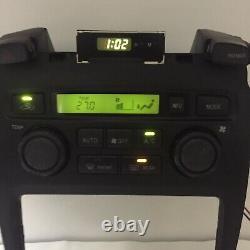 01-06 Toyota Highlander Digital AC Climate Control Dash Bezel OEM 84010-48082