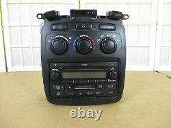 01-07 Toyota Highlander OEM Manual HVAC Heater AC Control Radio CD Climate Dash