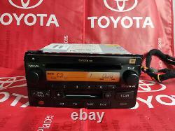 03-11 Toyota OEM Rav4 Celica Highlander 4Runner AM FM Radio Tape CD Player JBL