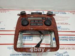 04-07 Toyota Highlander AC Woodgrain OEM Heater Climate Control 48010-48250
