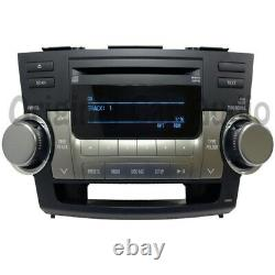 08 09 10 11 12 TOYOTA Highlander OEM Radio Aux MP3 WMA CD Player Stereo A518AW