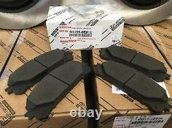 10-18 Highlander 11-18 Sienna 10-15 RX350 RX450 Front Brake Pads Rotors Set OEM