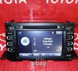 14 15 16 17 18 19 TOYOTA Highlander GPS NAVIGATION RADIO Entune Premium apps OEM