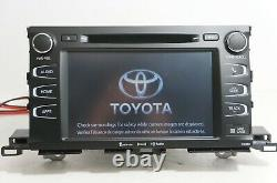 18 Toyota Highlander GPS NAVIGATION Radio Screen Entune 510390 OEM 86100-0E293