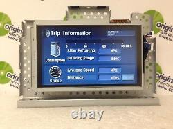 2004 2005 2006 2007 Toyota Highlander OEM navigation GPS display screen monitor