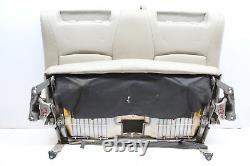 2007 Toyota Highlander Hybrid 3rd Row Bench Seat Tan Leather Oem 04 05 06 07