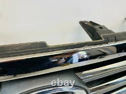 2008 2009 2010 Toyota Highlander Limited Chrome Upper Grille Grill Oem