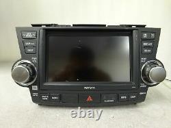 2008-2010 Toyota Highlander OEM GPS NAVIGATION SYSTEM 5th GEN E7014 Gade C JBL