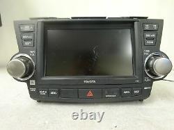 2008-2010 Toyota Highlander OEM GPS NAVIGATION SYSTEM 5th GEN E7015 Gade C JBL