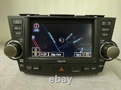 2008-2010 Toyota Highlander OEM GPS NAVIGATION SYSTEM 5th GEN E7016 Gade C JBL