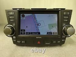 2008-2010 Toyota Highlander OEM GPS NAVIGATION SYSTEM 5th GEN E7017 Gade C JBL
