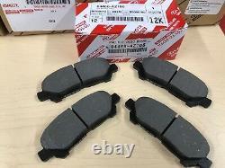 2008-2013 Highlander Genuine Oem Toyota Rear Brake Rotors, Tcmc Pads & Oem Shims