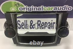 2008 2013 Toyota Highlander OEM Touch Screen Radio BEZEL ONLY 55424-48060