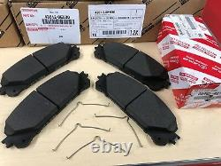 2008-2018 Toyota Highlander Genuine Oem Front Brake Kit Rotors, Oem Pads & Shims