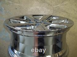 2011 11 2012 12 13 Toyota Highlander Alloy Wheel Rim 17 OEM USED 69580 CHROME