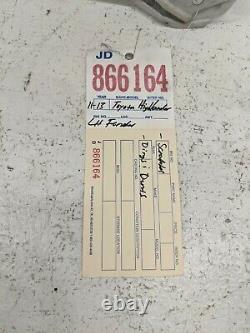 2011 2012 2013 Toyota Highlander Left Passenger Side Fender Oem Used #866164