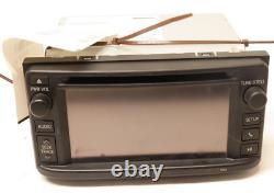 2013 Toyota Highlander CD Player Display Radio Receiver with Navigation OEM 57055