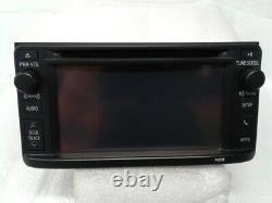 2013 Toyota Highlander Radio CD Player Navigation Display Screen Satellite OEM