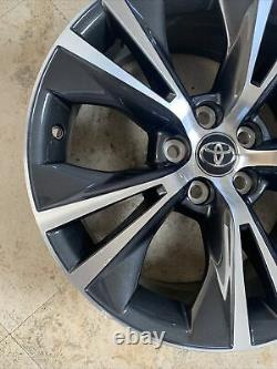 2014-19 Toyota Highlander 18 Factory OEM Wheel Rim Machined with Charcoal