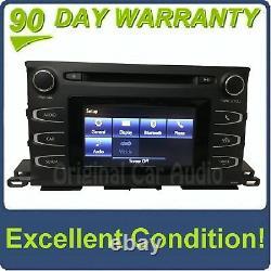 2014 2019 Toyota Highlander OEM AM FM Single CD Touch Screen Bluetooth Radio