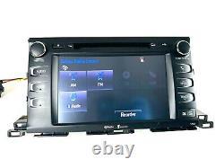 2014 2019 Toyota Highlander Radio Receiver CD Navigation 86100-0E250 57063 OEM