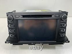 2017-2019 Toyota Highlander AM FM CD MP3 Satellite Player Radio Display OEM