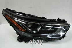 2020 2021 Toyota Highlander Oem Right Projector Type Full Led Headlight E1