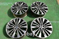 20 Toyota Highlander Platinum OEM Factory Wheels 4261A0E140 2021