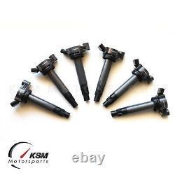 6 Ignition Coils Fit Toyota Camry Highlander Lexus ES330 RX330 90919-02246 OEM