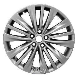96851 OEM Reconditioned Aluminum Wheel 20x8 Fits 2020 Toyota Highlander