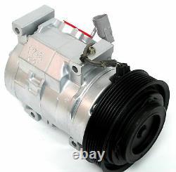 A/C Compressor Fits Toyota Camry 02-06 Highlander 01-07 Solara OEM 10S17C 77388