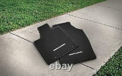 Carpet Floor Mats for the 2011-2013 Toyota Highlander-New, OEM-Black