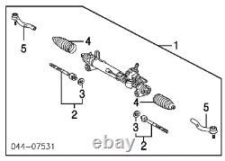 Factory Lexus Rx350 Rx330 Toyota Highlander Power Steering Rack 4425048120 Oem