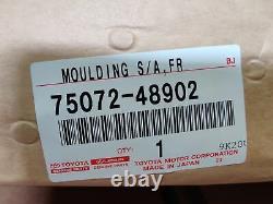 Genuine OEM Toyota 75072-48902 Driver Front Body Side Molding 2008-10 Highlander