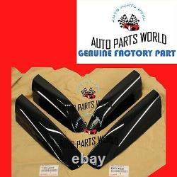 Genuine Oem Toyota 08-13 Highlander Front & Rear Roof Rack Leg Covers Set Of 4