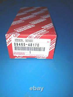 Genuine Toyota Highlander Lexus Rx330 New No. 2 Oxygen Sensor 89465-48170 Oem