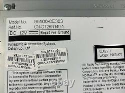 JBL 2014-2019 Toyota Highlander Gracenote Multimedia HD Radio 86100-0E303 OEM
