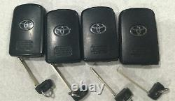 Lot Of 4 Oem 2014-2019 Toyota Highlander Tacoma Camry Avalon Smart Key Fob