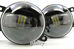 Morimoto XB LED Plug & Play Foglights For 2010-2020 Toyota 4Runner Type-T Amber