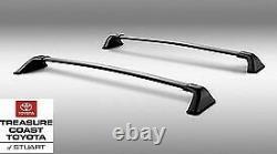 New Oem Factory Toyota Highlander 2020 & Up L & Le Model Roof Rack Cross Bars
