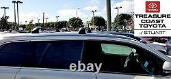 New Oem Factory Toyota Highlander Le Model Roof Rack Cross Bars 2014-2019 & Up