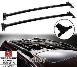 New Oem Factory Toyota Highlander Roof Rack Cross Bars 2008-2013