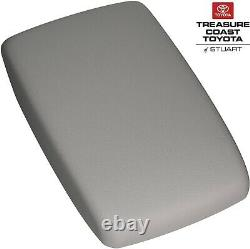 New Oem Toyota Highlander 08-2013 Gray Center Console Arm Rest LID