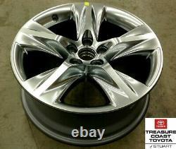 New Oem Toyota Highlander 2014-2019 Chrome Factory 19 Inch Aluminum Wheel Qty 1