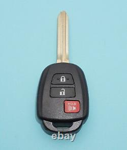 New Uncut Toyota Rav4 Highlander Keyless Remote Fob Transmitter Gq4-52t H Chip