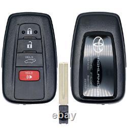 Oem 2020 Toyota Highlander Le Xle Smart Keyless Proximity Remote Fob Hyq14fbc