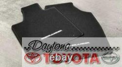 Oem Toyota Highlander Carpet Floor Mats (4) Pt919-48110-20 Fits 2011-2013 Black