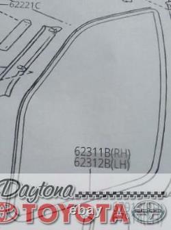 Oem Toyota Highlander Driver Door Inner Weatherstrip 62312-48050-a0 Fits 2003-07